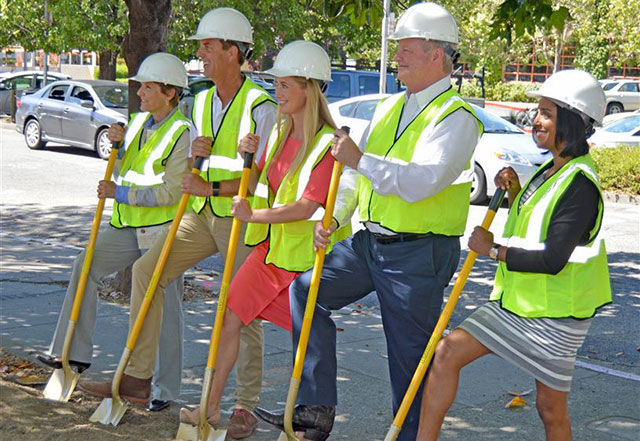 Miller Ave- Groundbreaking