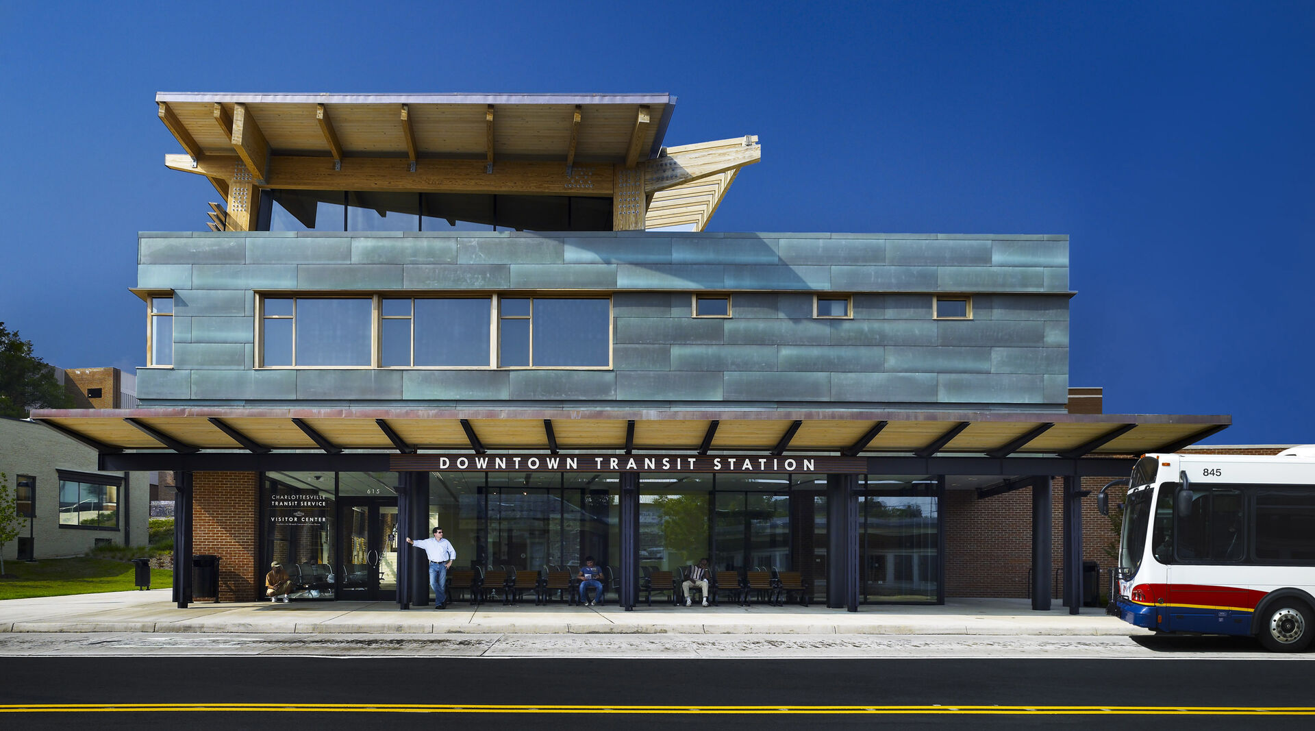 Charlottesville Downtown Transit Station