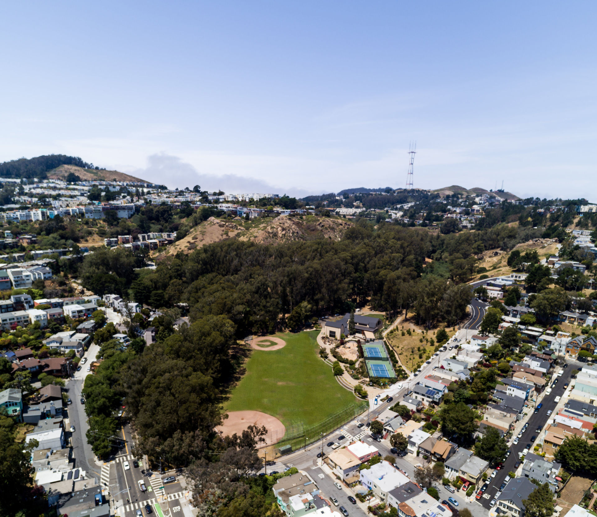Glen Canyon Park Aerial