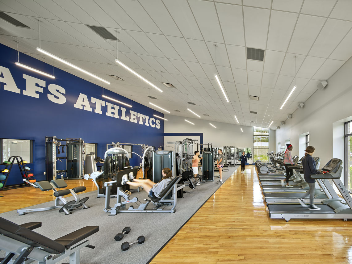 AFS Athletic Center interior