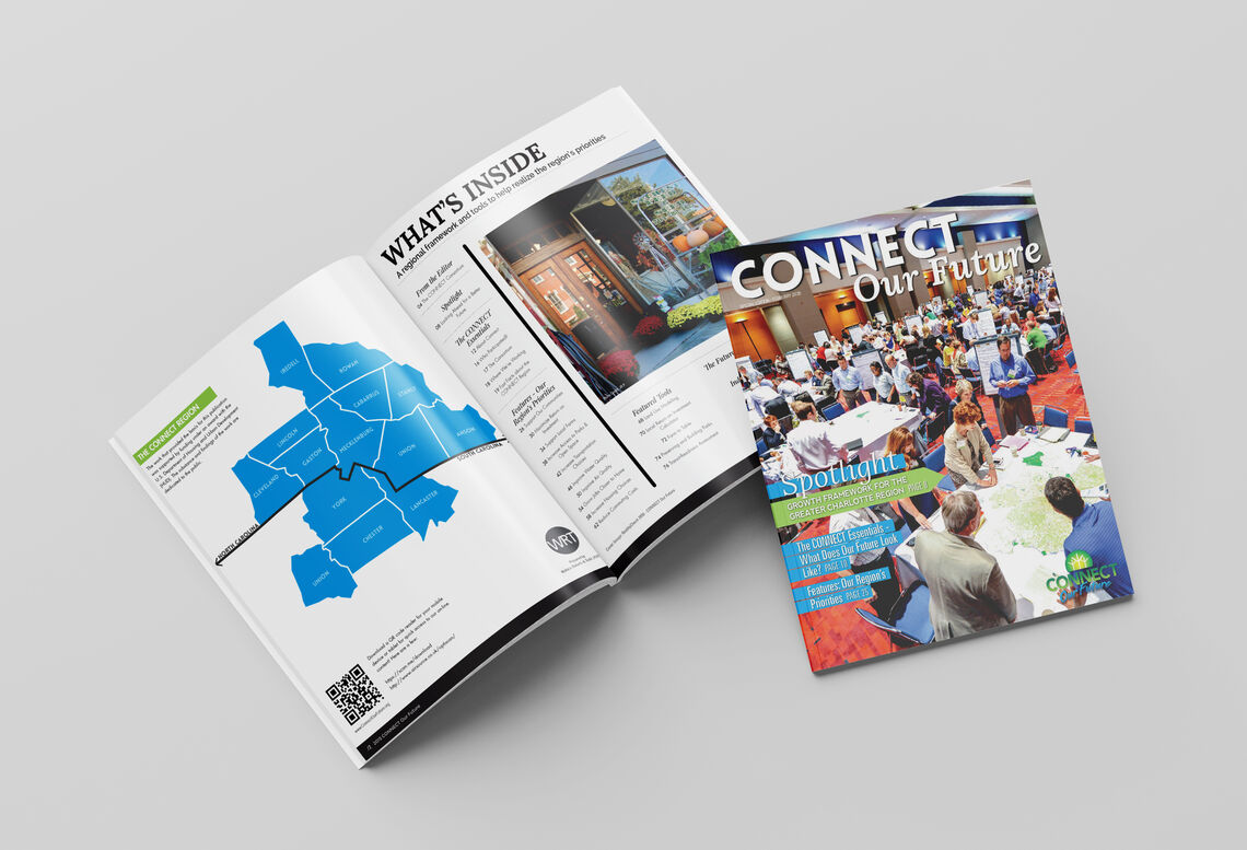 connect our future magazine mockup