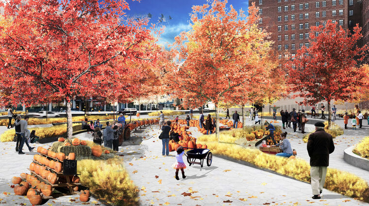 congress plaza redesign autumn