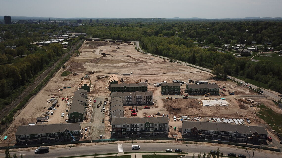 Village at River Park in Construction
