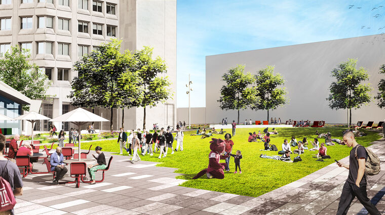 Temple University Landscape Master Plan